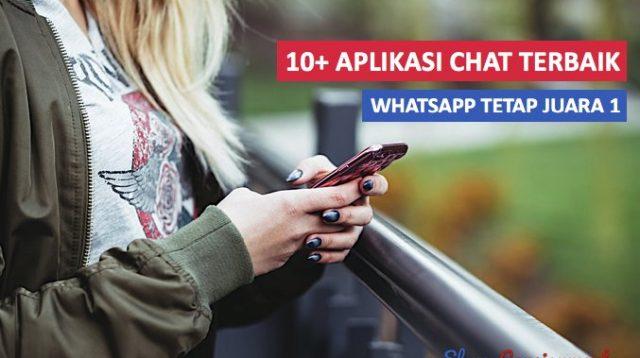 Aplikasi Chat Terbaik whatsapp rank 1