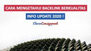 Cara Mengetahui Backlink Berkualitas Cover