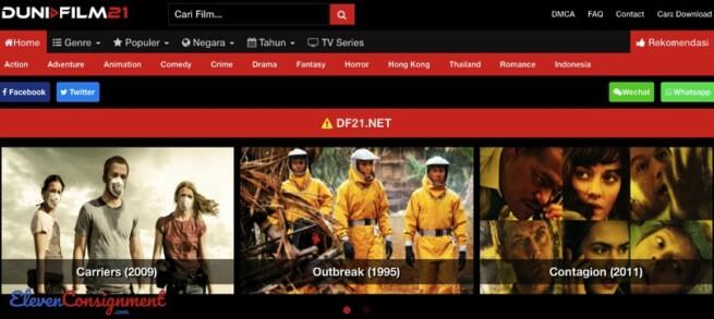 Daftar Website Nonton Streaming - DuniaFilm21