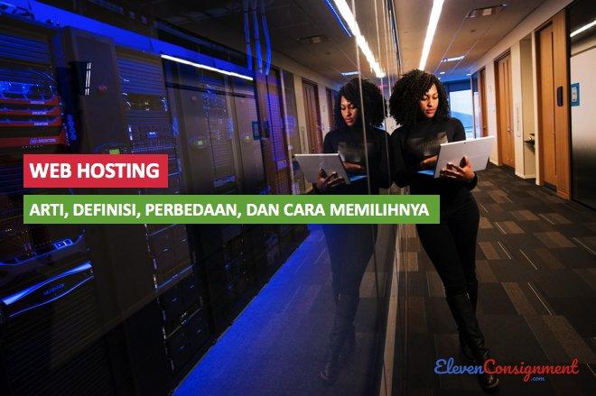web hosting adalah