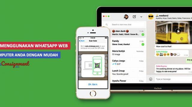whatsapp web wa web di komputer - cover