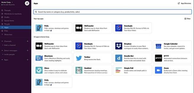 Aplikasi Bisnis Online Slack
