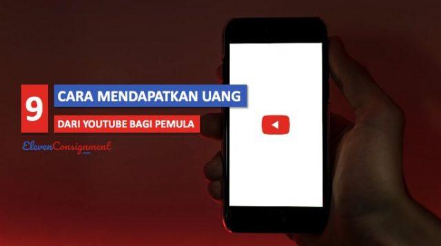 Mendapatkan Uang Dari Youtube cover