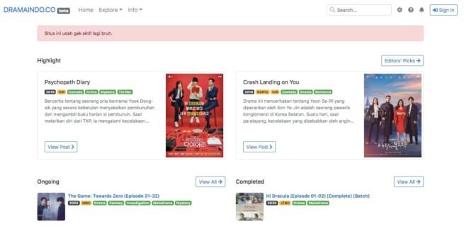 Situs download drama korea dramaindo