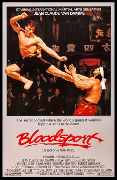 Daftar adegen film action - bloodsport