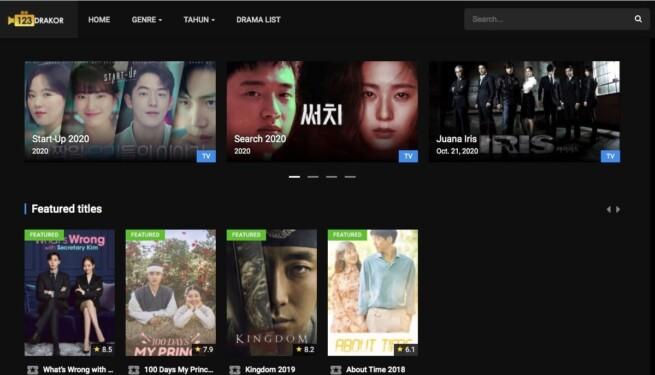 Situs download drama Korea 123drakor co