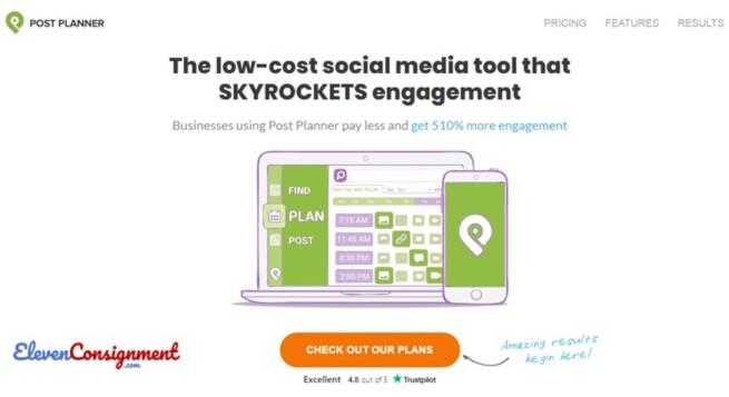Manajemen Media Online-postplanner