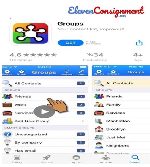 Delete Contact-groups