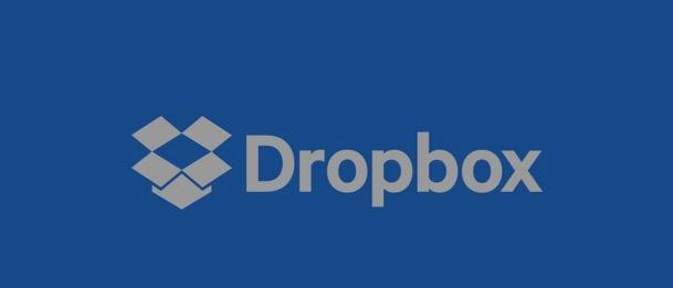 Aplikasi cloud storage Dropbox