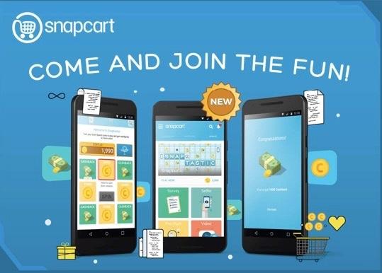 Aplikasi penghasil pulsa gratis dari snapcart