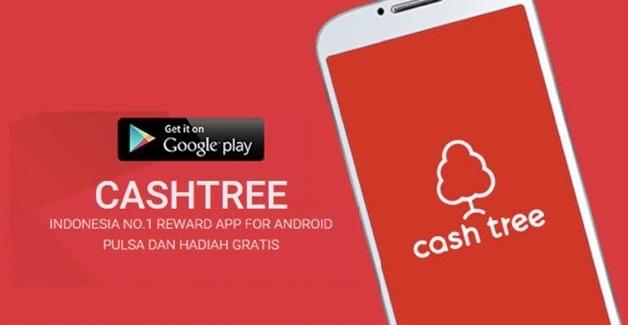 Cara dapat pulsa gratis dari cashtree