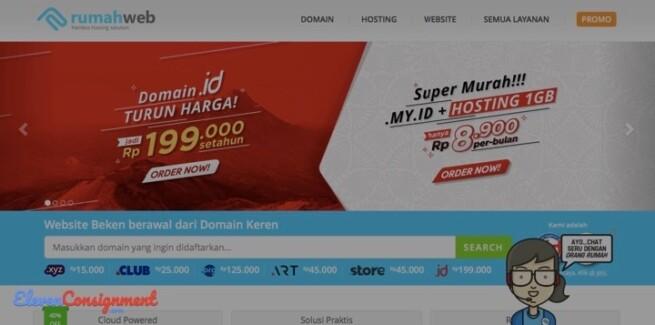 Hosting Indonesia Terbaik Rumah Web