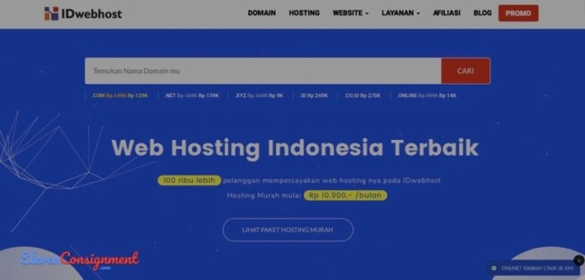 Hosting Indonesia Terbaik Unlimited IdWebhost