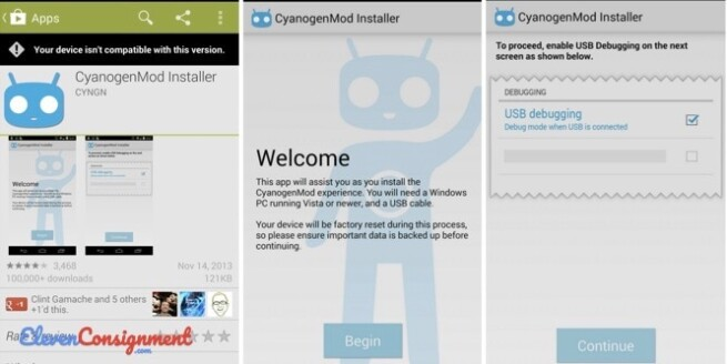 Aplikasi Terlarang Android CyanogenMod Installer
