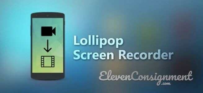 Aplikasi perekam layar android Lollipop Screen Recorder
