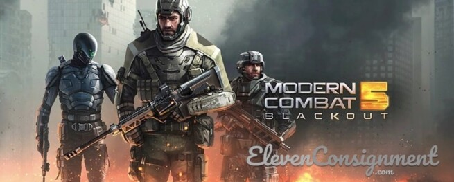 Game FPS Mobile Android Terbaik Modern Combat 5 Blackout