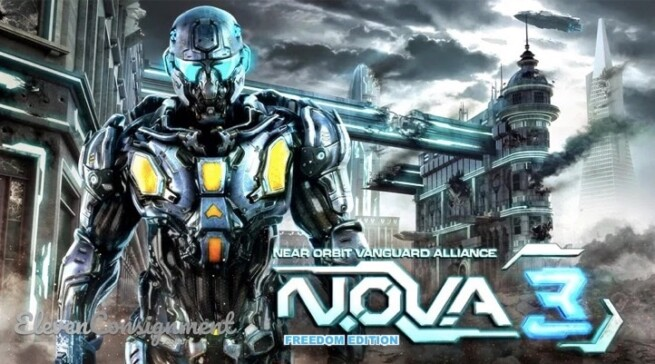 Game FPS Mobile Terbaik N.O.V.A 3 Freedom Edition