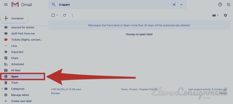 Daftar Gmail - Mengantisipasi Spam dengan Baik
