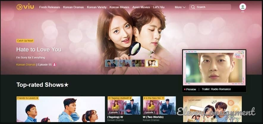 Nonton Film Semi Korea di Aplikasi Viu